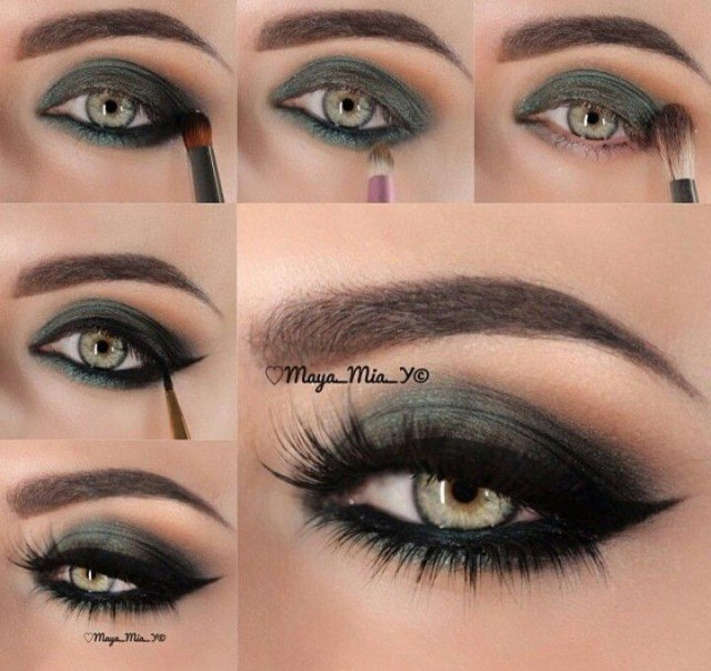 Perfect Eye Shadow To Complement Green Eyes