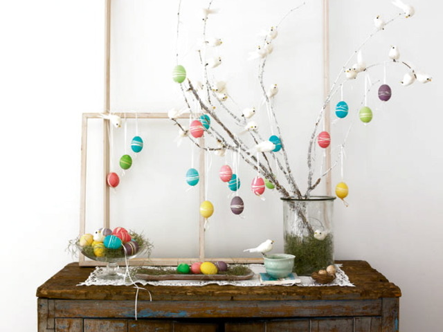easter decorating ideas to beautify your easter Easter Egg Table Decoration
