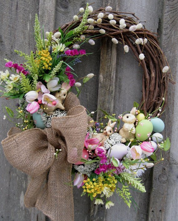 15 Diy Wreath Ideas For Easter Pretty Designs