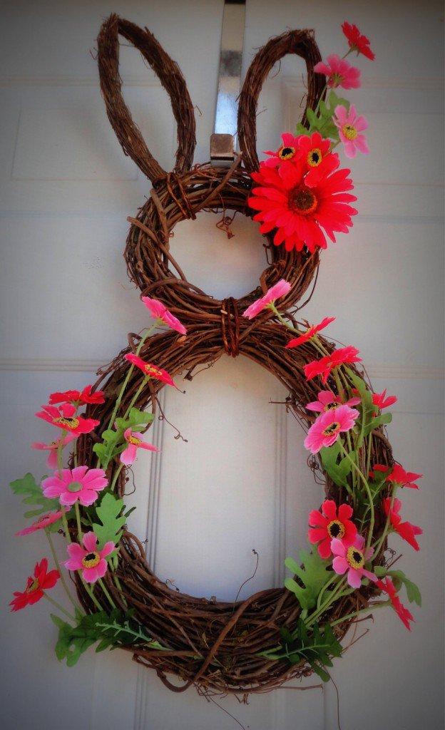 Easy Bunny Wreath
