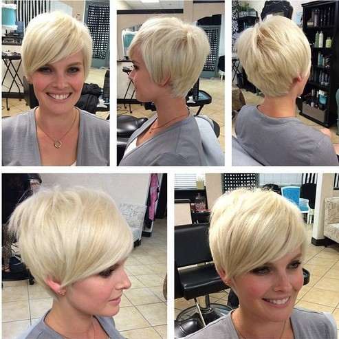 16 Fabulous Short Hairstyles For Long Face Pretty Designs