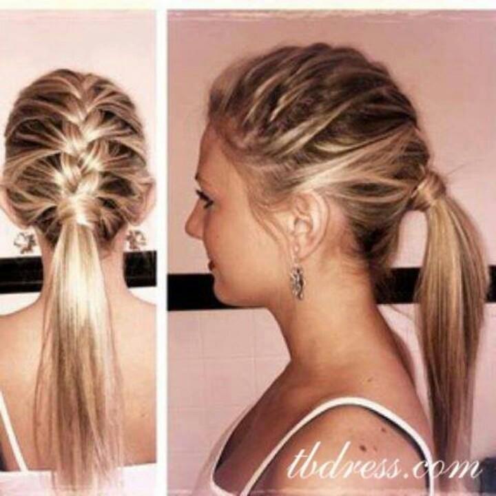Amazing 12 Cool Ponytail Hairstyles For Women 2015 Pretty Designs Short Hairstyles Gunalazisus