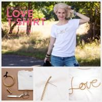 Gold Cord Love T-shirt