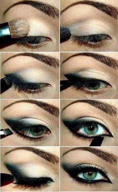 Green Smokey Eyes