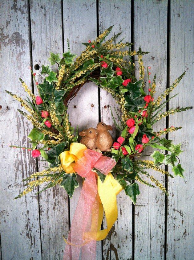 Handmade Easter Wreaths