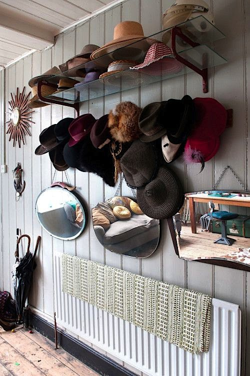 How to store the accessories pretty designs for How to store hats