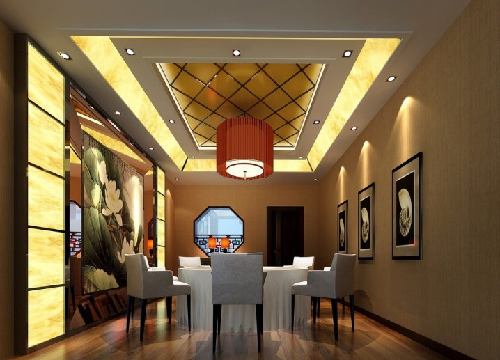 Home Decorating: Dinning Room Ceiling Ideas - Pretty Designs