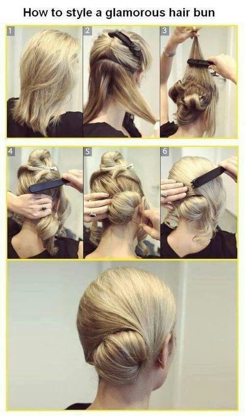 How to Style a Glamorous Hair Bun