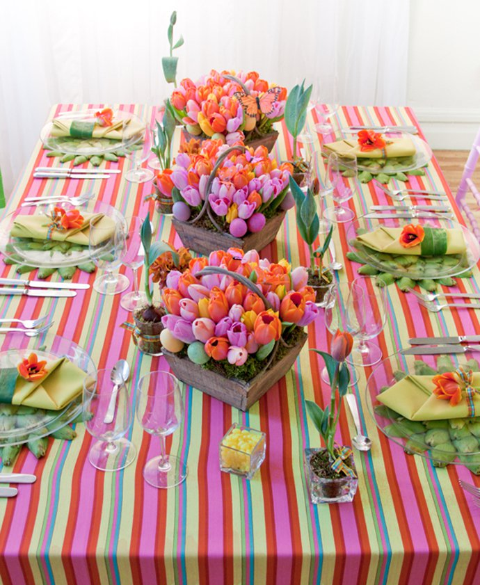 Spring Table Decorations table decoration ideas for spring - pretty designs