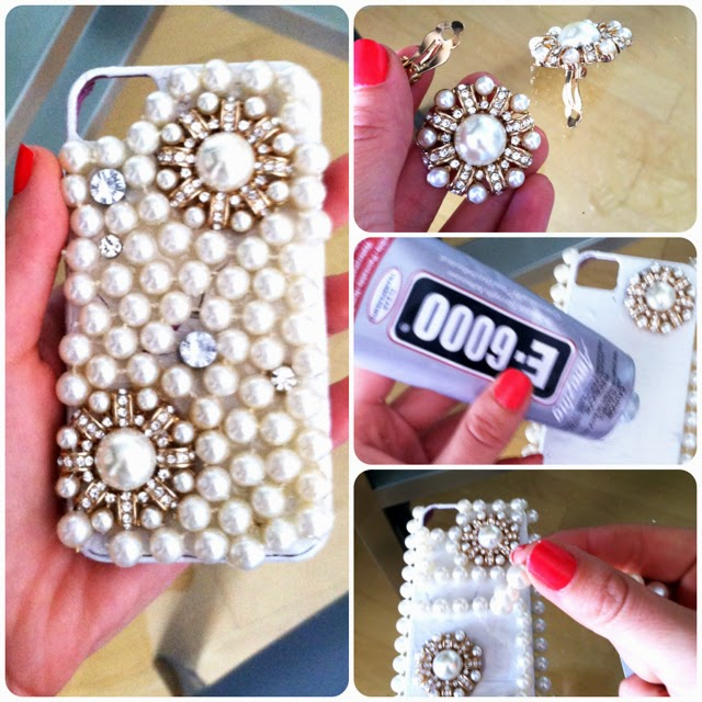 Diy projects embellish your phone cases pretty designs for Homemade phone case
