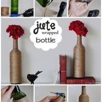 Jute Wrapped Bottles