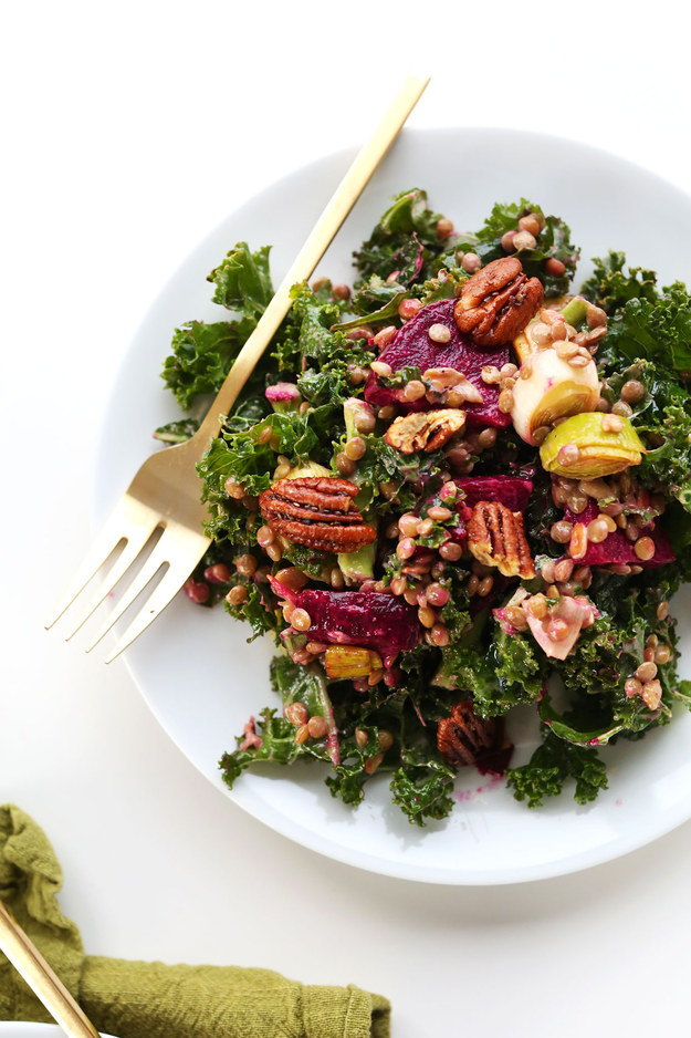 ... creamy tofu dressing recipe beets and kale with creamy tofu dressing