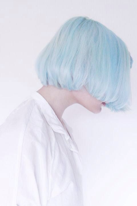 Light Blue Bob Hairstyle