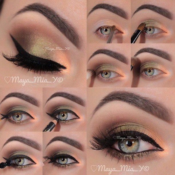 Light Green and Golden Eyes