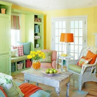 Living Room in Spring Vibe