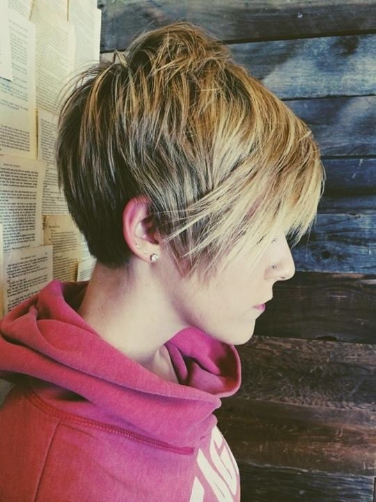 Long Pixie Haircut for Straight Hair