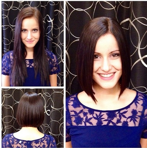 Long Straight Bob Haircut
