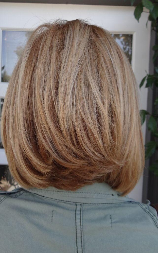Medium Straight Haircut for Thick Hair