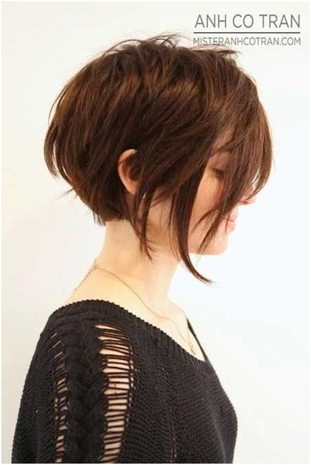 Messy Bob Haircut for Straight Hair