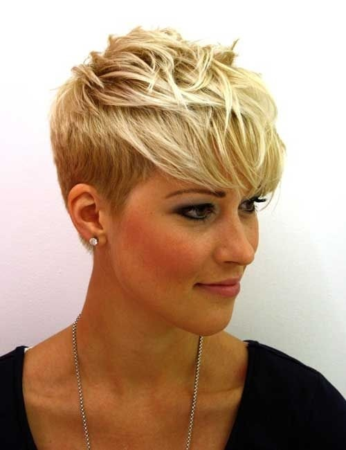 Messy Pixie Haircut Side View