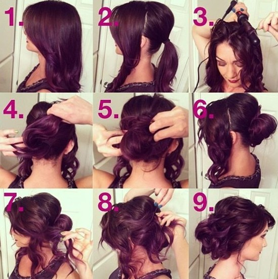 Beautiful Messy Hairstyle : Beautiful prom hairstyles for long hair pretty