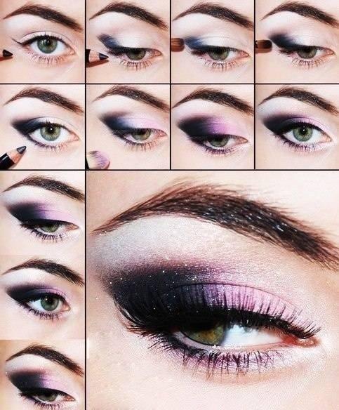 Ombre Purple Eyes