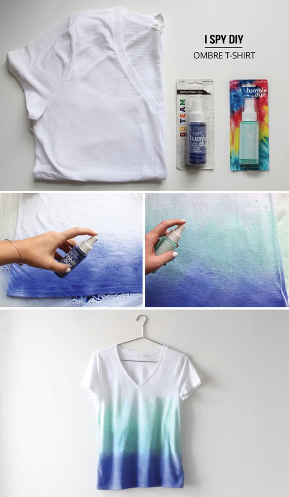 Super Easy T-shirt DIY Projects - Pretty Designs