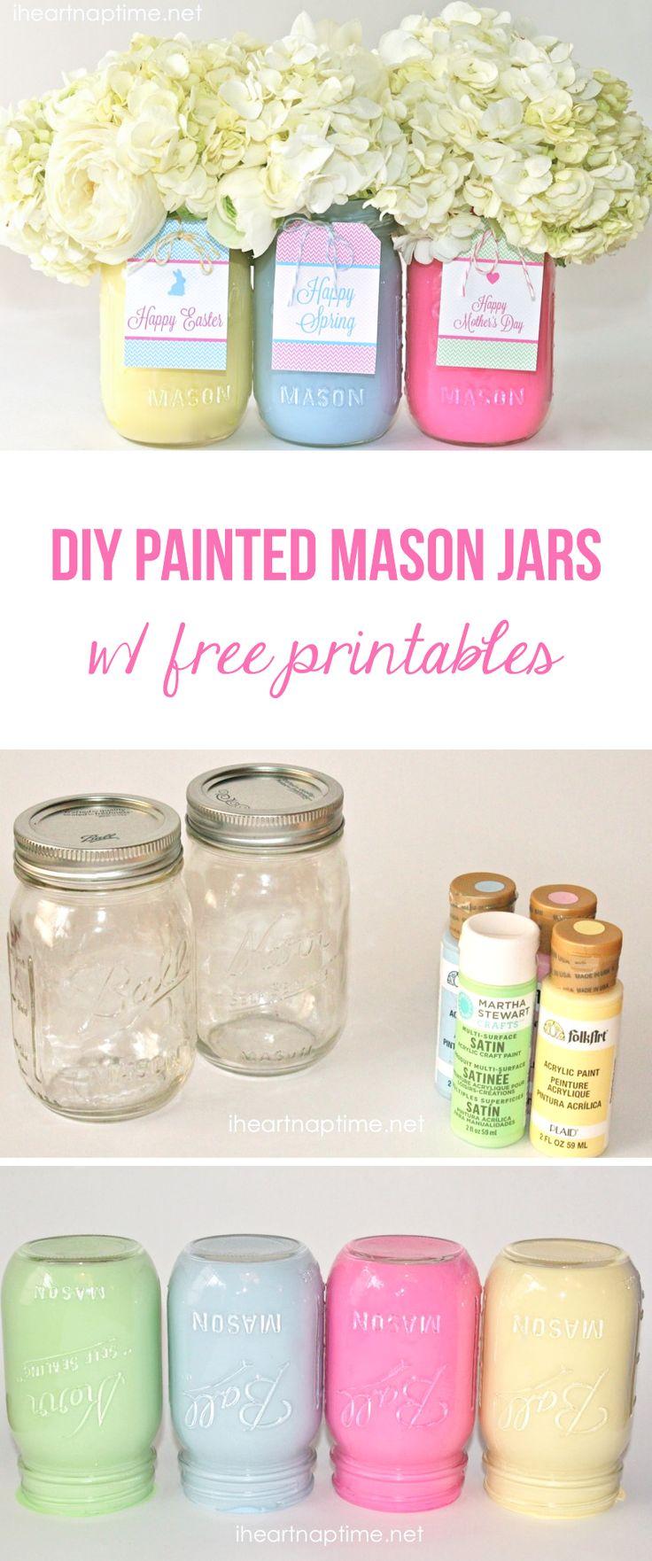Pastel Jars