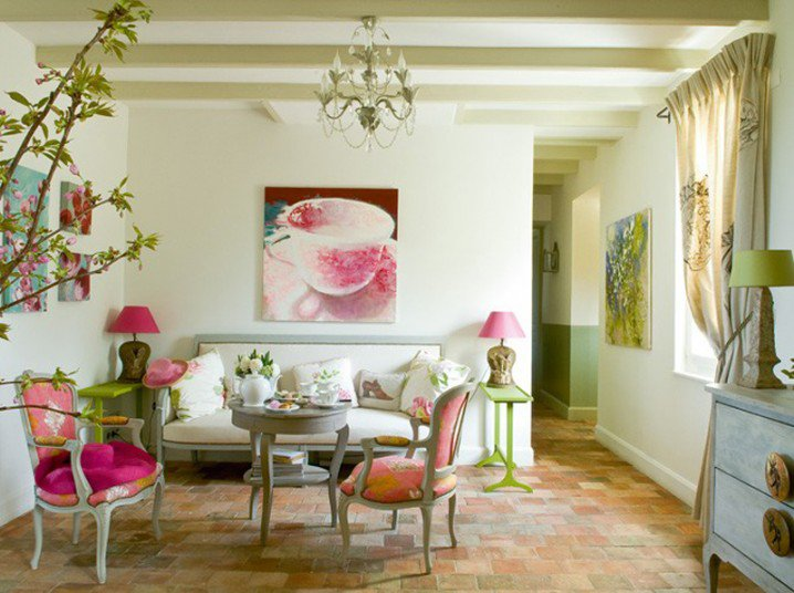 pink and green living room ideas home decorating decorations for your home pretty 26442