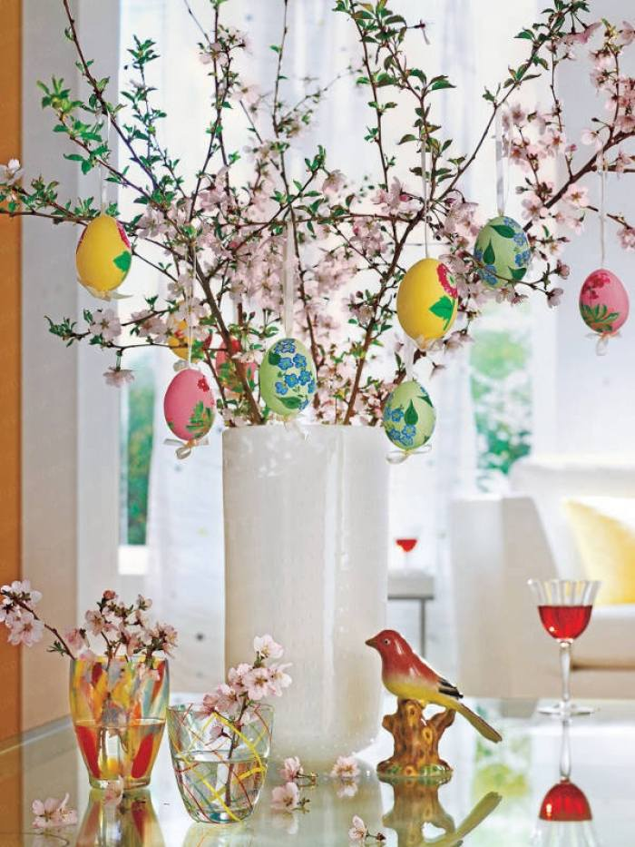 15 Ideas to Decorate Your Home For Easter   Pretty Designs