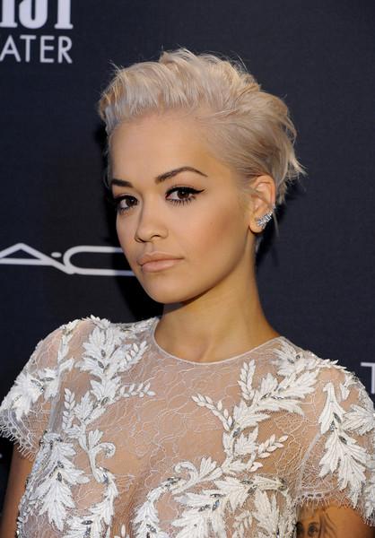 Rita Ora Nude Look