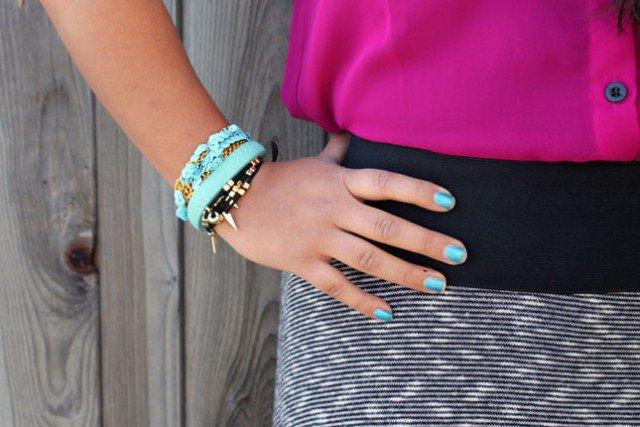 Sequined Bracelet