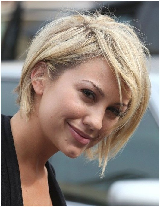 Short Blond Haircut for Women