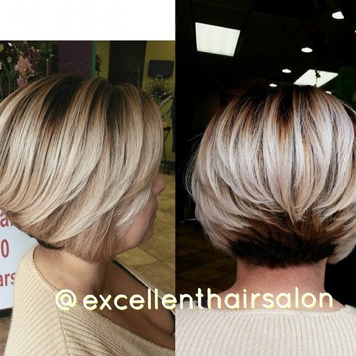 Short Bob Haircut with Layers