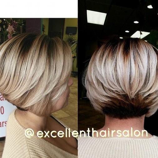 Short Bob Haircut with Layers