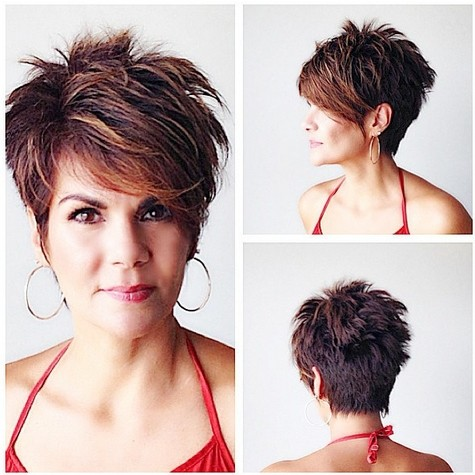 Short And Choppy Hairstyles Best Short Hair Styles