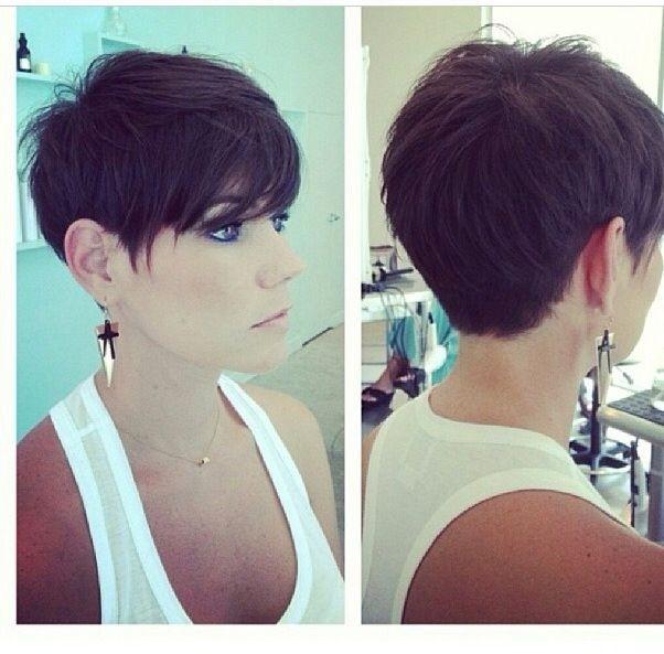 Short Pixie Haircut for Black Hair