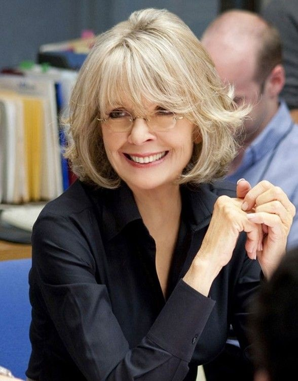 Haircuts for Women Over 50 Diane Keaton
