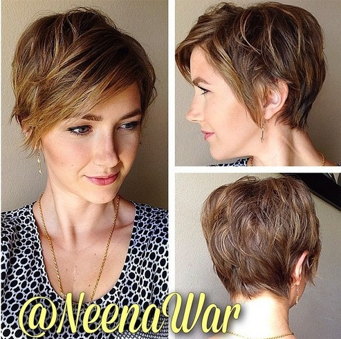 16 Fabulous Short Hairstyles for Long Face 2015 - Pretty Designs