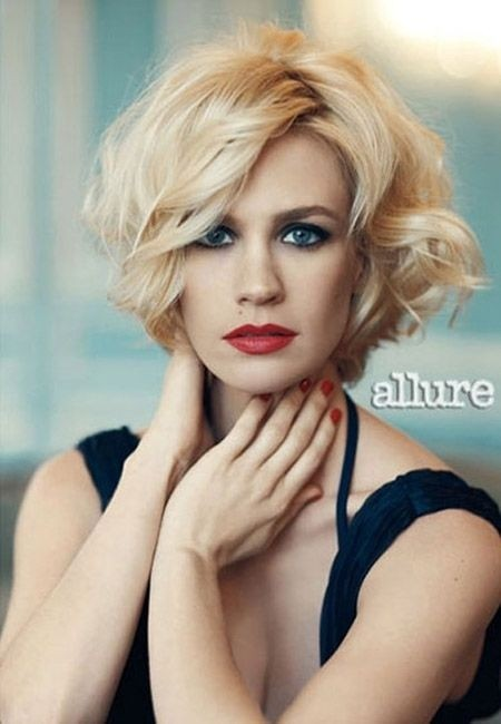 hair styles for thick short hair 22 great haircuts for thick hair pretty designs 3450 | Short Wavy Hairstyle