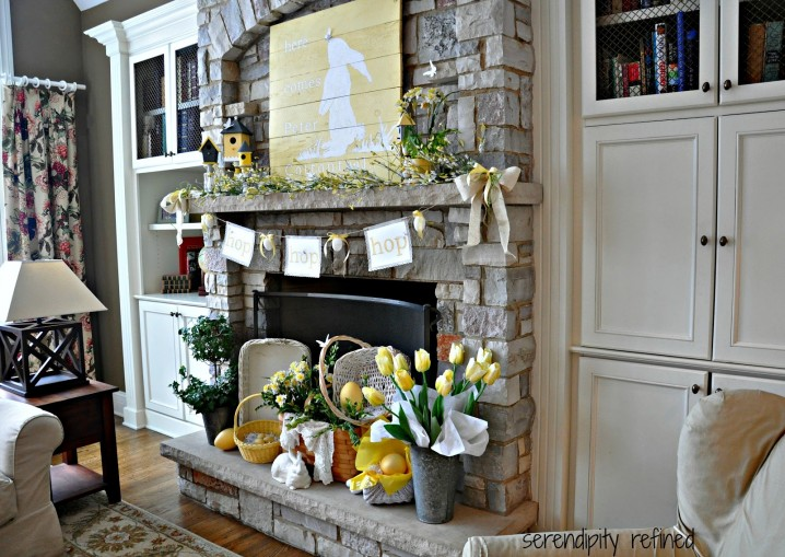 Decorate your house for easter