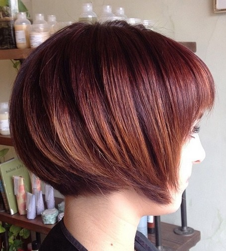 Stylish Short Bob Haircut
