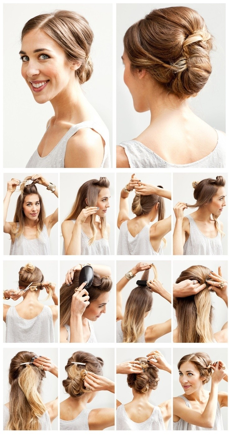 14 Stunning Wedding Hairstyles with Tutorials - Pretty Designs