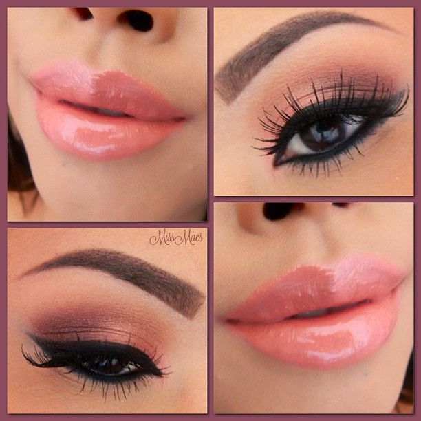 Valentine's Peach Lips