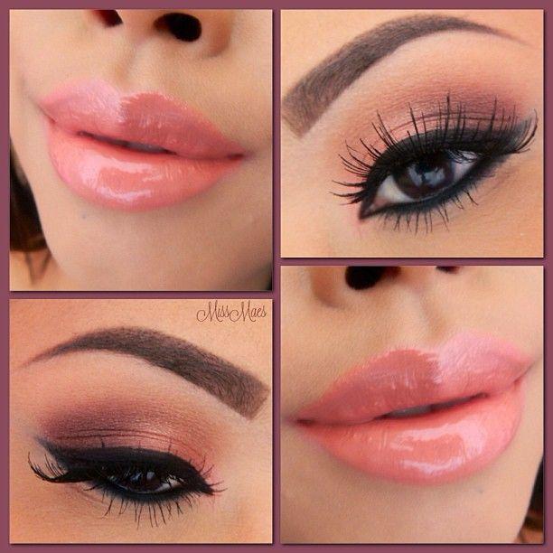 Valentine's Peach Lips