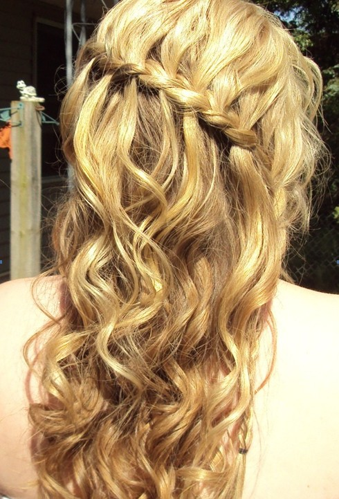 braided hairstyles for prom : 16 Beautiful Prom Hairstyles for Long Hair 2015 - Pretty Designs