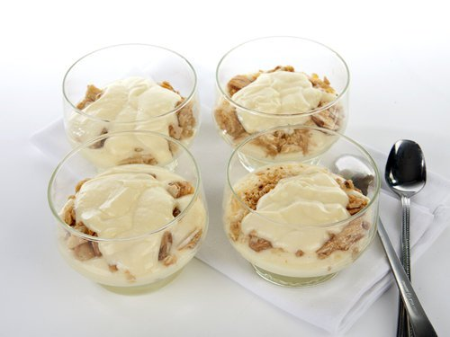 White Chocolate Dip with Nuts