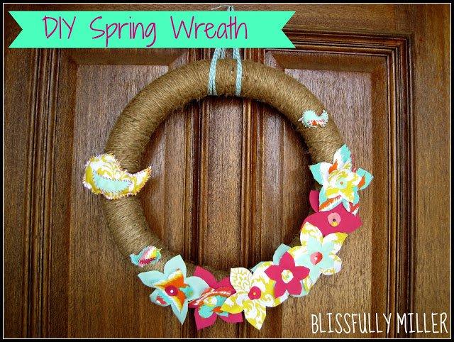 Wonderful Spring Wreath