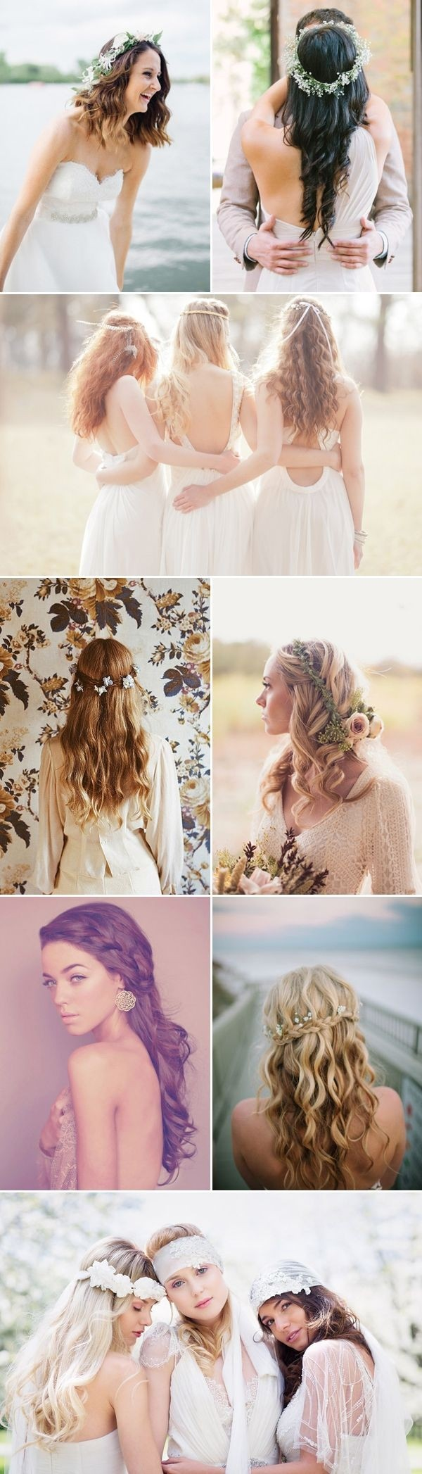Amazing Bridesmaids Hairstyles