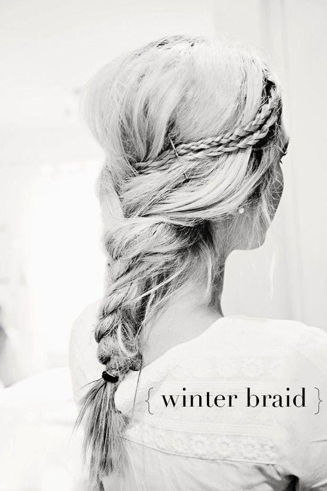 Braid into Braid Hairstyle